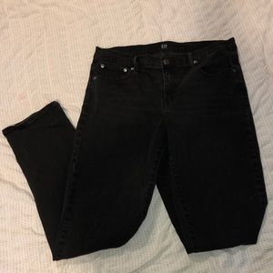 Gap black denim jeans